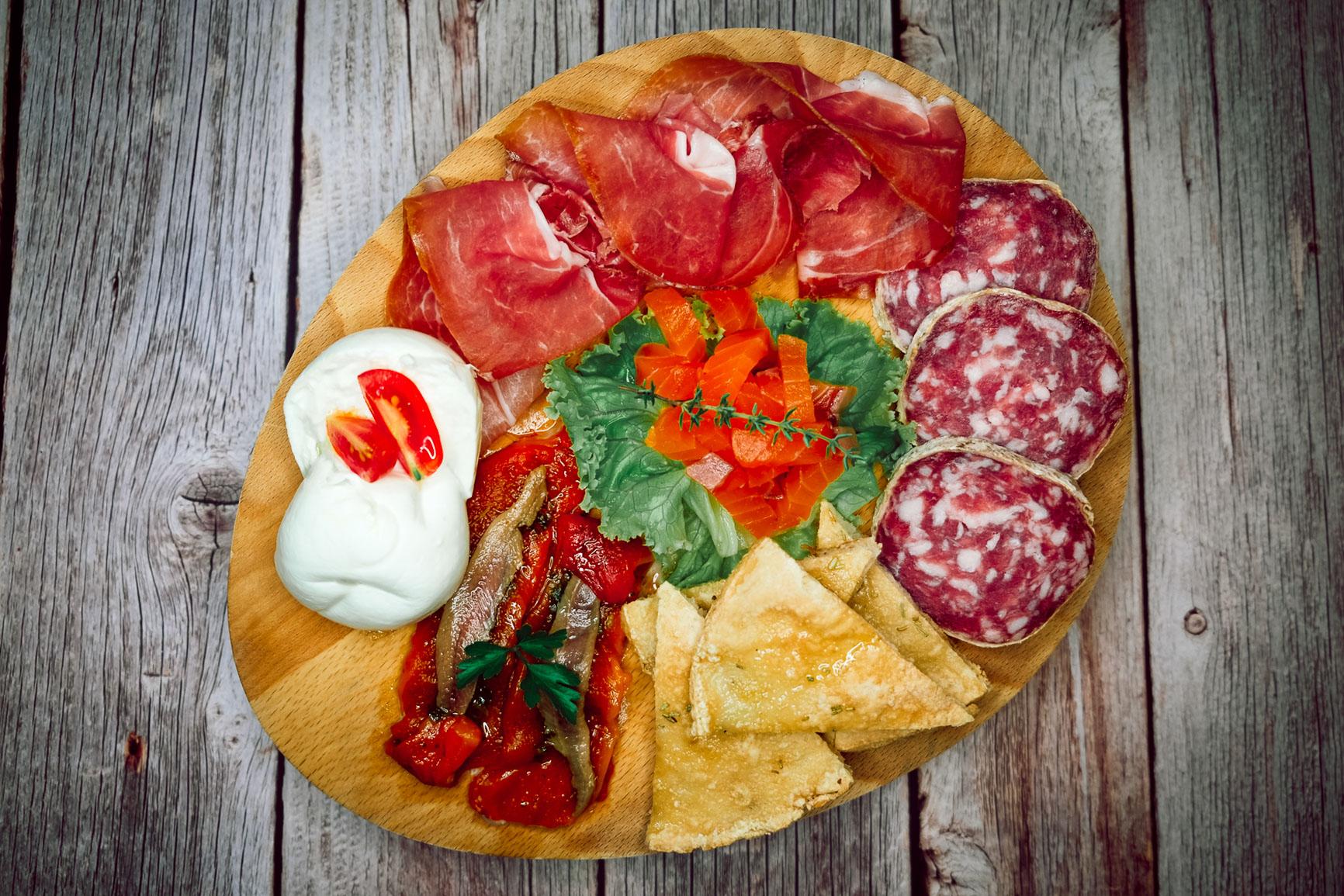 menu piatti antipasti barbarossa bistrot